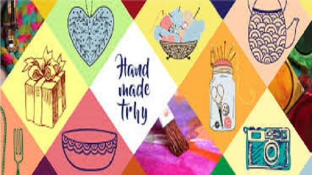 Hand made trhy