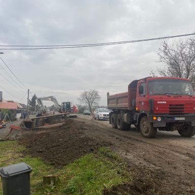 Kanalizácia - Nová Seňa