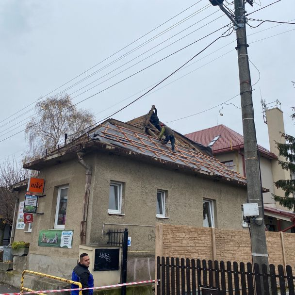 Budova pred Obecným úradom