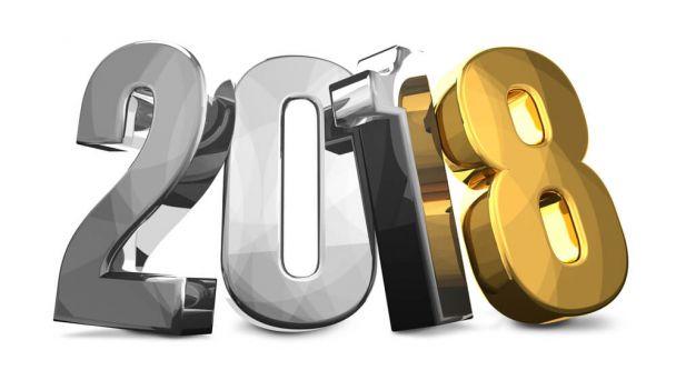 Šťastný Nový rok 2018