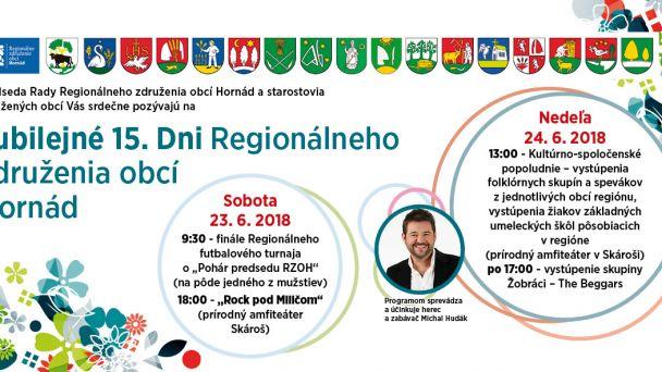 Dni Mikroregiónu 2018