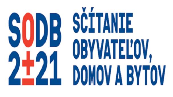 Sčítanie obyvateľov, domov a bytov SODB 2021